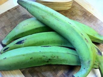 Unripe plantain